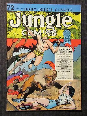 1986 Jerry Iger's CLASSIC JUNGLE COMICS #1 VF- 7.5 Blackthorne