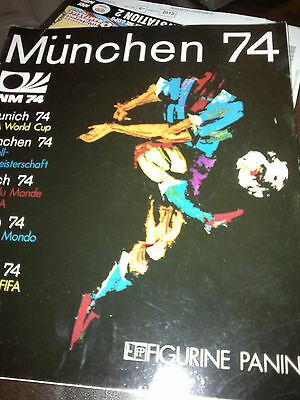 Album Panini Soccer Football Munchen 74 Fifa World Cup Printed In Italy Oficial