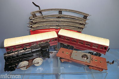 VINTAGE BRIMTOY MODEL No.XXX BR  PASSENGER    TRAIN SET