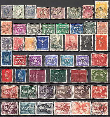 LOT 35. NETHERLANDS X48 Diff., some M/Mint.