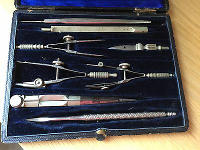 Vintage Engineering Architects Technical Drawing Set