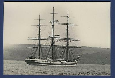 Sailing Ship Knight Of The Thistle Potter Liverpool Finland Hoppet Norway Novo