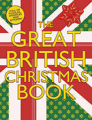 Christmas Activity Book (The Great British Christmas Book) Brand New