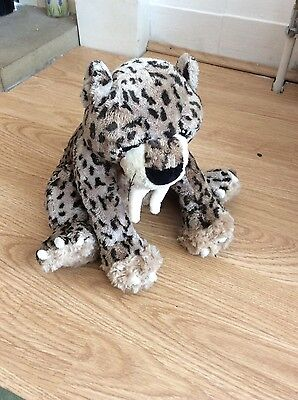 growling cuddly toy leapord