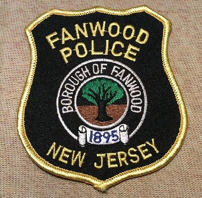 NJ Fanwood New Jersey Police Patch