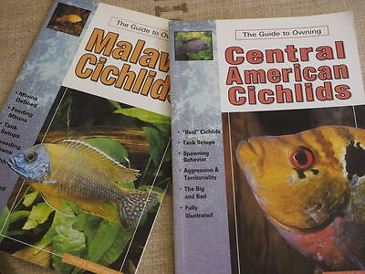 The Guide To Owning Cichlids Malawi Central American 2 Books