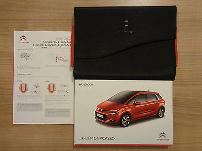 Citroen C4 Picasso Owners Handbook/Manual and Wallet 13-16
