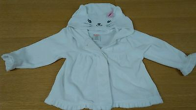 Gymboree Infant Girl's White Sweater, Size 12-18 Months