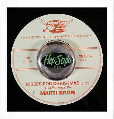 Marti Brom 45 - Kisses For Christmas - Great Rockabilly & Honky Tonk