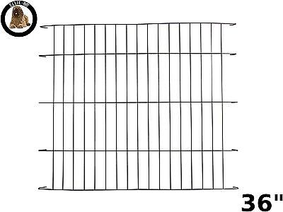 Ellie-Bo Divider for Dog Crate Cage Large 36-Inch Black