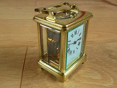 Antique English Carriage Clock. Fully Serviced & Restored.