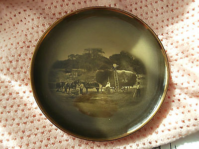 Ridgways Wall Plate, Based On Pictures By Famous Artists - Meadow