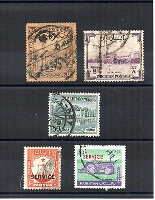 PAKISTAN old and recent used & mint stamp