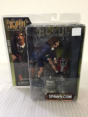 Mcfarlane Toys Angus Young of AC/DC Collector Figure - New