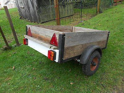 used car trailer car boots camping tip runs 4x3