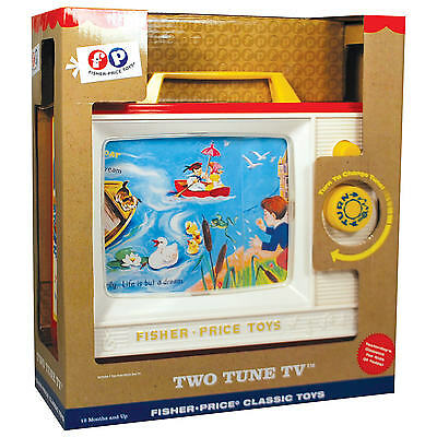 Brand New Fisher Price Two Tune Television