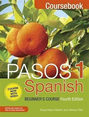 Pasos 1: Spanish Beginner's Course CD and DVD Set by Martyn Ellis 9781473610767
