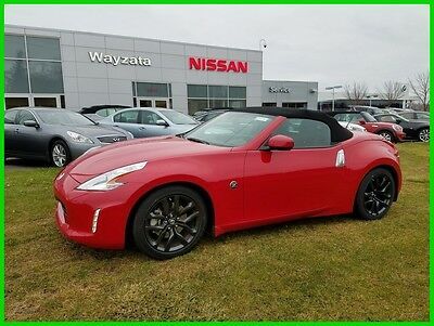 2016 Nissan 370Z Touring 2016 NISSAN 370Z ROADSTER TOURING 15K MI A/T NAV BOSE HTD/COOLED SEATS