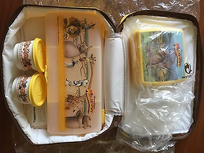 New Tupperware Madagascar Lunch Set With Cooler Bag