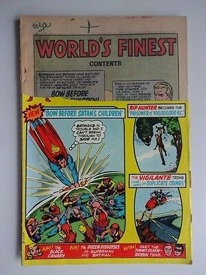 World's Finest #225  Rip Hunter And The Vigilante  Nick Cardy    _K