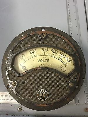 Voltmeter 0- 650v AC by British Physical Laboratories