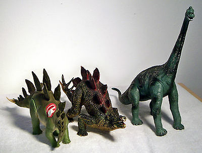 Three Really Large Dinosaurs for Play or Education