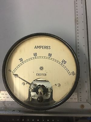 Vintage Ammeter - Generator Exciter possible  Burrell showman's scenic engine ?