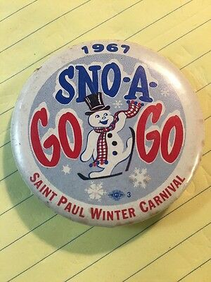 Saint Paul Winter Carnival Button From 1967