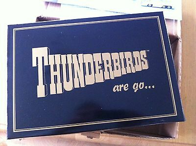 Thunderbirds Gold Plated Gift Set Limited Edition