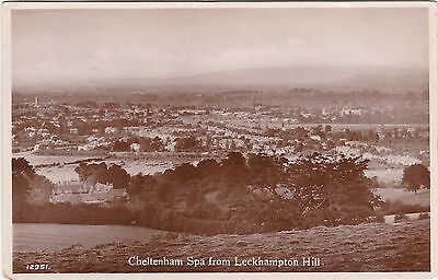 General View From Leckhampton Hill, CHELTENHAM, Gloucestershire RP