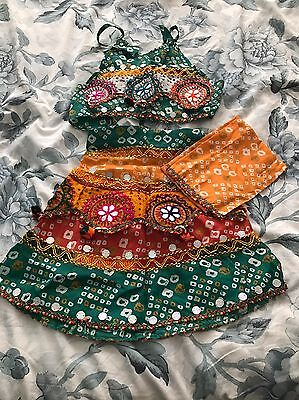 Girls Garba Chanya Choli 6-12 Months
