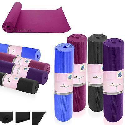 3 mm Yoga Mats Mat Non Slip Exercise Gym Fitness Pilates Physio Foam Camping