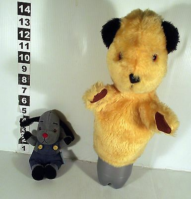 "10"" Sooty Hand Glove Puppet + 6"" Sweep Soft Toy -  Sooty & Sweep"