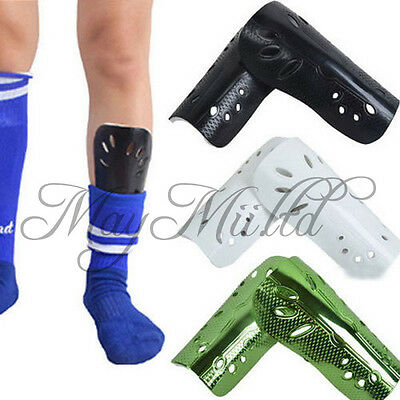 Newest  Mens Football Shin Pads Basketball Shin Guards Protective Gear Legs Z @