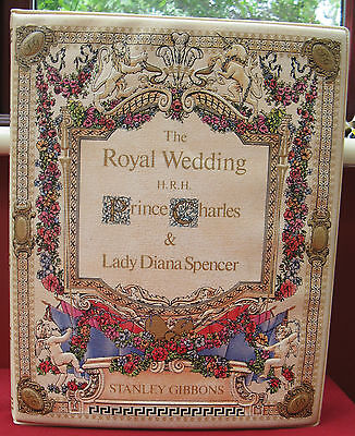 Charles and Diana Wedding Stamp Album crammed with Mint unmounted Stamps.