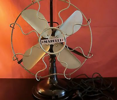 Ventilatore Fan Ercole Marelli Epoca 1926/28 Old Milano Made In Italy