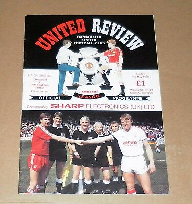 Liverpool Versus Nottingham Forest 1989 Cup Semi Final replay