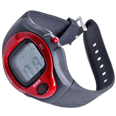 2x(11Q4 Sport Stop Watch Calorie Counter Heart Rate Monitor New)