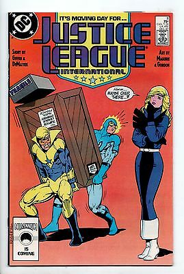 Justice League International #8 - Moving Day (DC, 1987) - VF-