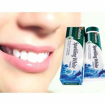 Himalaya Herbals Sparkling White Toothpaste Pack of 100 gm