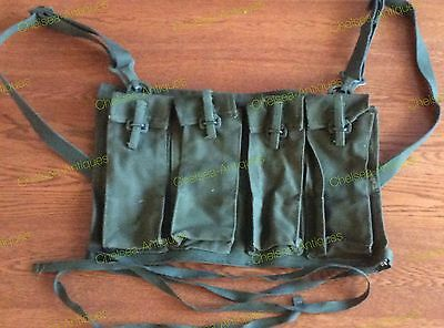 Canadian Armed Forces Fn Fal C2A1 Mag Pouches -- Chest Rig -- Mag Bra