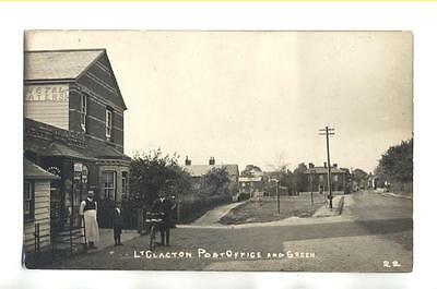 Little Clacton - Post Office And Green -  Rp Postcard Unused  - Essex