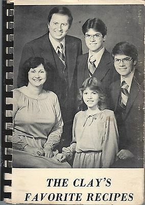 *greenville Oh 1979 Carolyn Clay & Friends Cook Book The Clay's Favorite Recipes