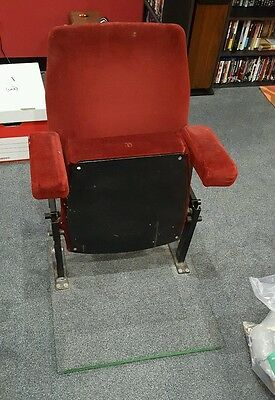 Vintage Red cinema chair