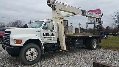 1999 Ford F800 National 560C 15 TON BOOM TRUCK