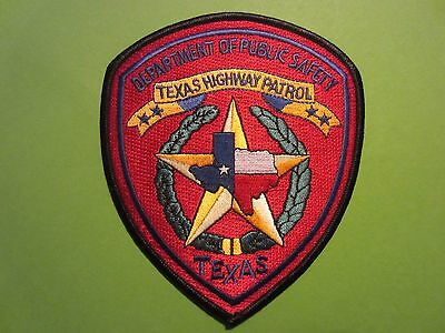 Collectible Texas Highwway Patrol Patch New