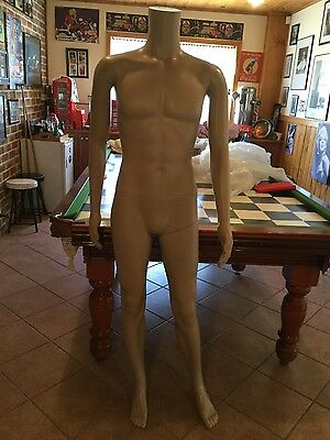 Headless male mannequin - new