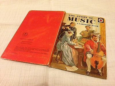 Vintage Ladybird Book The Story Of Music