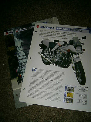 Suzuki Katana The complete fact file from Essential Superbikes 4 Pages