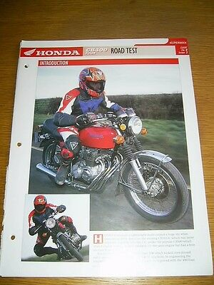 Honda CB400 FOUR The complete fact file from Essential Superbikes 10 Pages